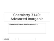 valence bond theory review