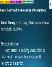 5 BSNS113 2019 S2 - Game Theory(1) (3).pptx