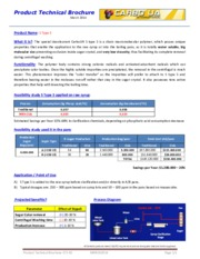 Carbo UA ST5 Product Technical Brochure