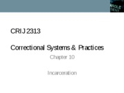 CRIJ 2313 - Chapter 10 - Fall 2011