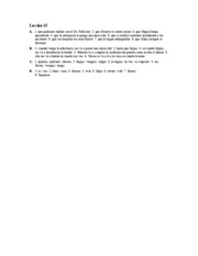Â¡Hola, amigos! Workbook Answer Key Lec.13 A-D