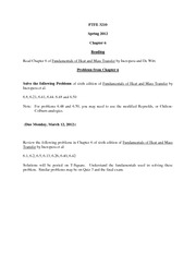 Solutions to HW Ch6 2012