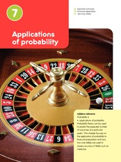 Chap07 - apps of probability