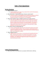 Forensics - Unit 1 Text Questions.docx