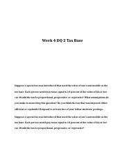 ECO-204 Week 4 DQ 2.doc