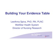 NR505-Building your Evidence Table