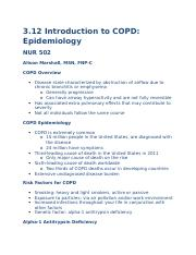 3.12 Introduction to COPD Epidemiology.docx