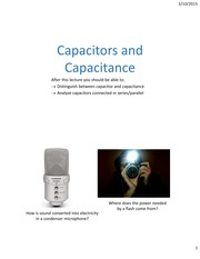 Lecture08 ch24 Capacitors