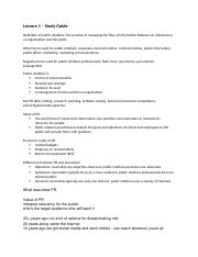 Lecture 1 study guide - Overview.docx