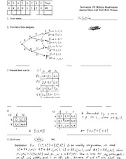 Midterm Fall05 Solutions