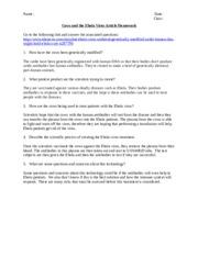 Mutations Worksheet - Gene Mutations Make sure you READ the ...