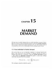15 Market Demand