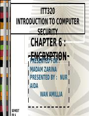 [18JAN2016] CHAPTER6-ENCRYPTION (AIDA&AMY)