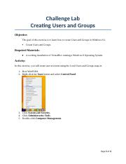 1. Creating Local Users and Groups.docx