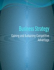 BUS 605 Business Strategy