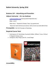 Advertising and Promotions Syllabus - Spring 2016 - Andrews (7).docx