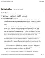 7. The Law School Debt Crisis - The New York Times-1