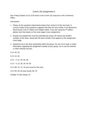 2014 Comm 161 Assignment 1
