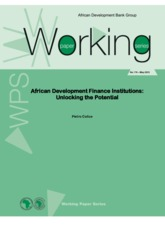 Working Paper 174 - African Development Finance Institutions- Unlocking the Potential