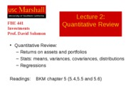 FBE441_02_Quantitative_Review