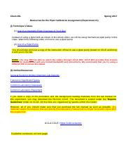 02 - Pre-Lab Report Guideline for Pipet Calibration Assignment
