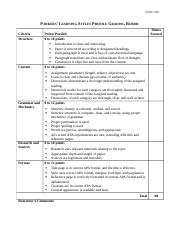 Parkers_Learning_Styles_Profile_Grading_Rubric