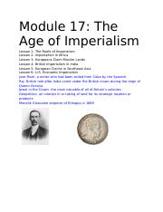 Module 17_ The Age of Imperialism.docx