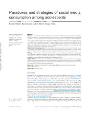 Paradoxes and strategies of social media consumption among adolescents.pdf