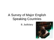 A Survey of Major English Speaking Countries 8