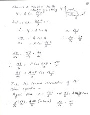 Wave Equation Derivation