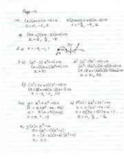 Unit 1 Day 6 page 110-112 solutions