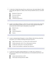 Ati proctor exam 2008 for A and B questions