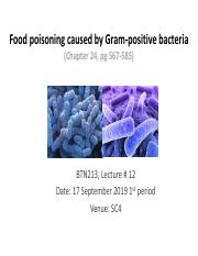 Lecture 12 Foodborne illness caused by gram positive bacteria 160919.pdf