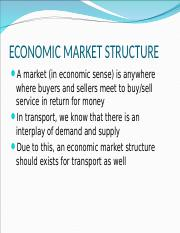 CHAPTER 4 - Market structure