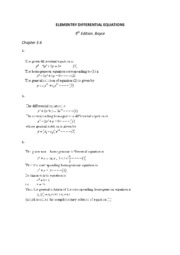 ELEMENTRY DIFFERENTIAL EQUATIONS 3.6