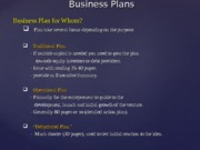 Business Plan Components - 9-2-2015