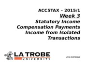ACC5TAX S1 2015 Week 3 Compensation and Isolated transactions Livia LMS clean