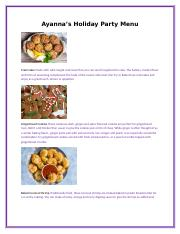 Holiday Appetizer Menu.docx