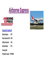 airborne express havard business case solution Airborne express case study solution, airborne express case study analysis, subjects covered business units cost analysis.