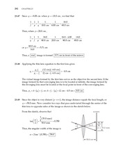 26_Ch 23 College Physics ProblemCH23 Mirrors and Lenses