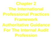 Internal Auditing Chapter 2