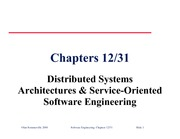 Study Guide on Distributed Systems Architecture