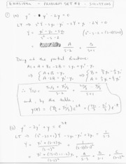 Enas 194 Problem Set 7 Solutions