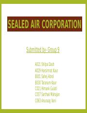 Group 9 - Sealed Air Corporation.pptx