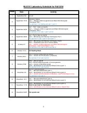 A - BLG151 LabSched F2016 with prelab quizzes