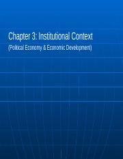 Chapter 03 - Institutional Context & Pol. Econ.(1).ppt