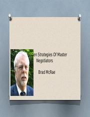 The Seven Strategies Of Master Negotiators.pptx