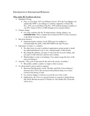 Class notes- Introduction to IR