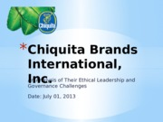 Chiquita Brands International.pptx