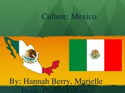 Mexico Group Presentation